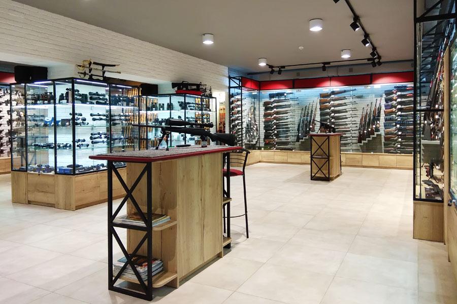 Gun Range Retail deisng