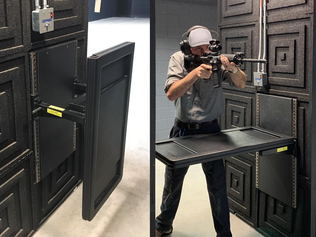 GRC Custom Gun Range Products Tables